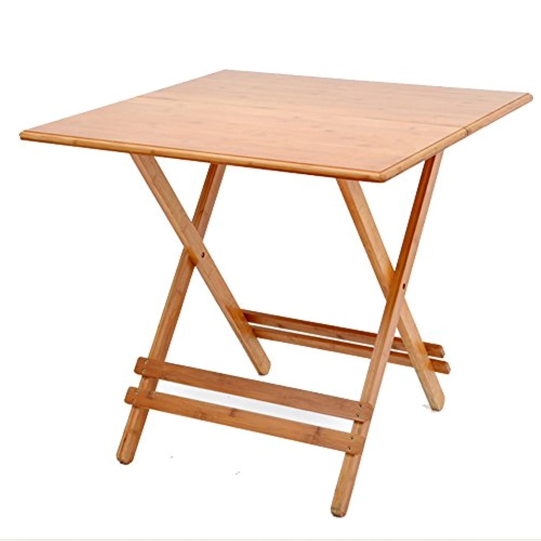 その後綺麗な用心するHUO,テーブル 折りたたみテーブルテーブルポータブル屋外テーブルシンプルな小さなアパートの折り畳みテーブルの庭のテーブル 多機能 (サイズ さいず : 65cm)