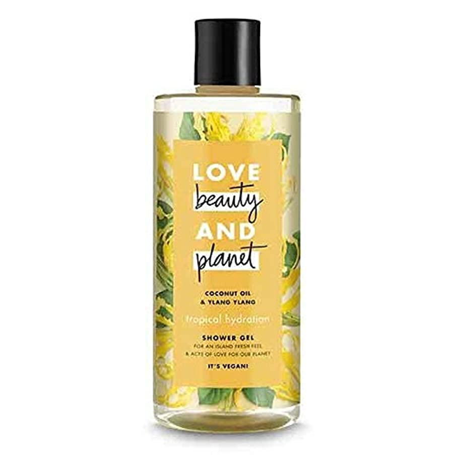 コードレス強制ペルソナ[Love Beauty and Planet ] 美しさと惑星熱帯水和シャワージェル500ミリリットルを愛します - Love Beauty And Planet Tropical Hydration Shower Gel...