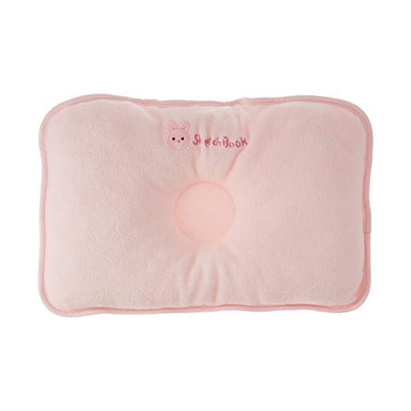 西川産業 babypuff ドーナツ枕(大) ピ...の商品画像