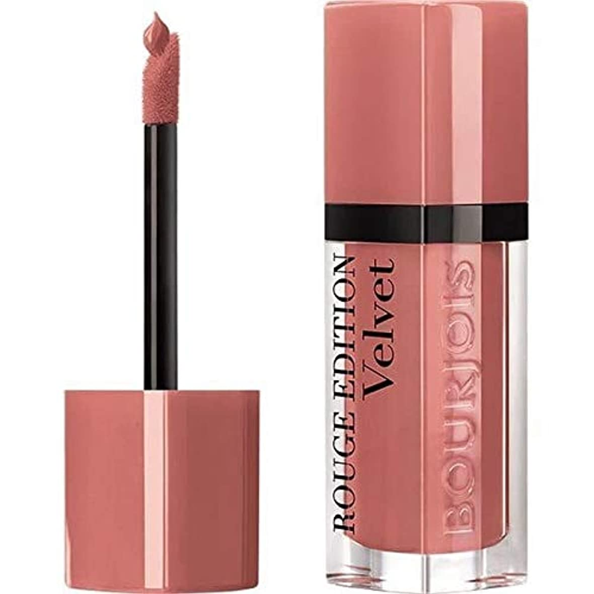 [Bourjois ] ブルジョワ液体口紅ルージュ版のベルベットのChocopink 28 - Bourjois Liquid Lipstick Rouge Edition Velvet Chocopink 28 [並行輸入品]