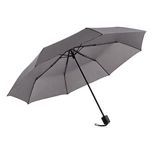 折りたたみ傘 耐風耐久 メンズ 8本骨 紳士傘 グレー  boy