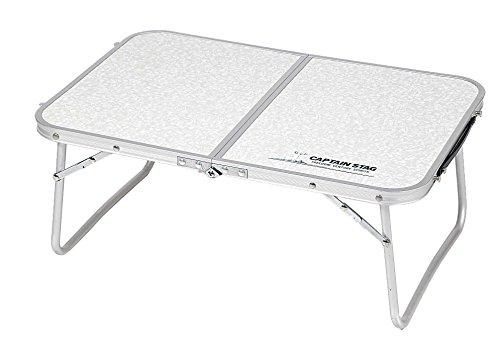 キャプテンスタッグ ラフォーレ アルミ薄型FDテーブル 60×40cm