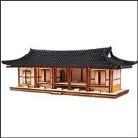 Young Modeler HO Serises, 木製モデルキット_韓国の伝統的なタイル屋根の家(YM605) [並行輸入品]