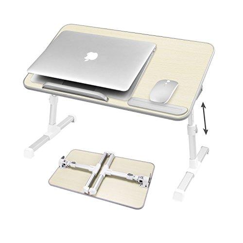 [해외]NEARPOW 침대 테이블 노트북 스탠드 접이식 높이 각도 조절 침대 소파 아침밥 다기능 이용 가능 승강 식 사이드 테이블/NEARPOW bed table laptop stand folding type height angle adjustable bed sofa breakfast multifunctional use elevating si...