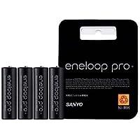 SANYO eneloop proエネループプロ 単3形4本パック HR-3UWXB-4