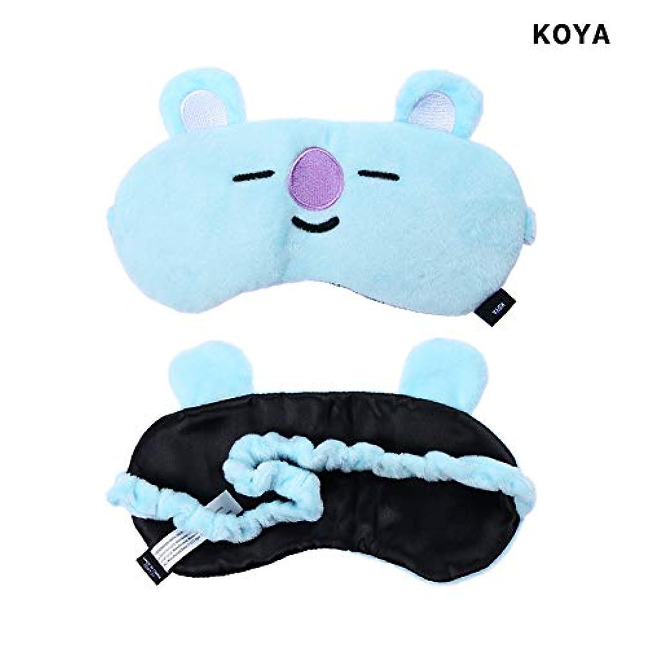 ローブ確保する修正NOTE かわいいアイマスクK-POP BTSバンタンボーイズレストスリープマスクBT21スガタタチミーRJクッキーアイシェードアイマスクパッチ睡眠ケアツール