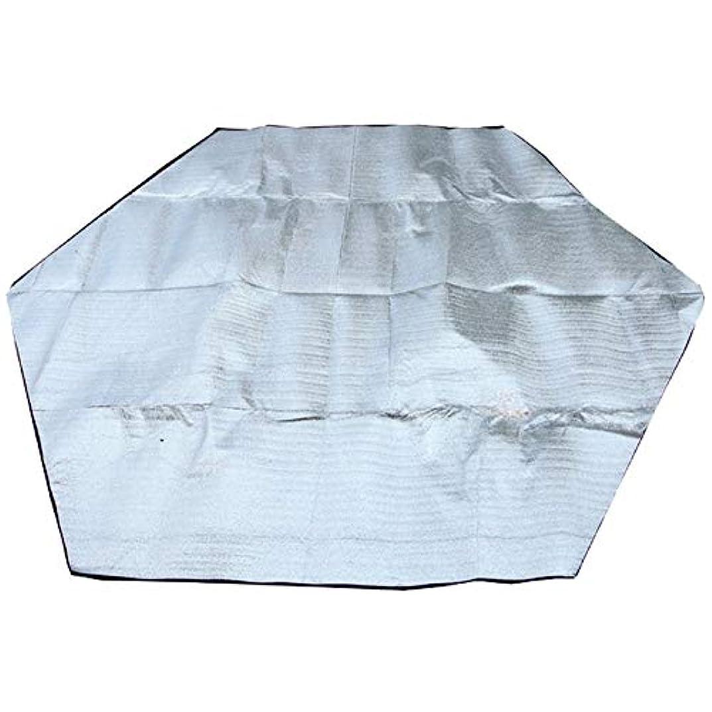 制裁気になる路地Hongyuantongxun 6コーナー屋外防水フォームスリーピングパッドキャンプマットアルミ箔ピクニックブランケットラグ折り畳み式ビーチマットダブルフェイス (色 : 240cm)