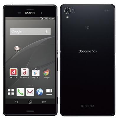 SONY docomo Xperia Z3 SO-01G Black