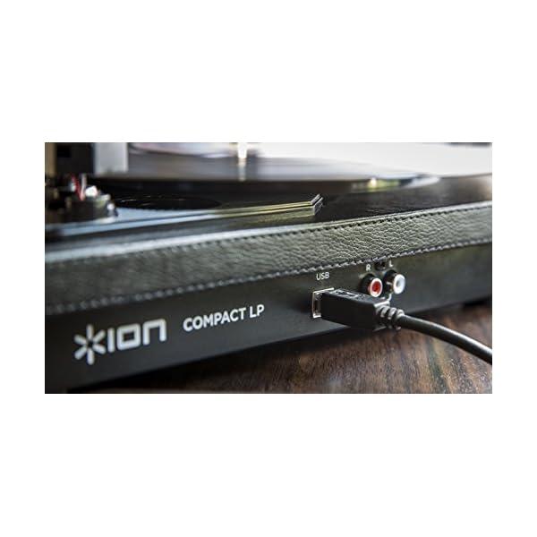 ION Audio Compact LP 革張...の紹介画像2