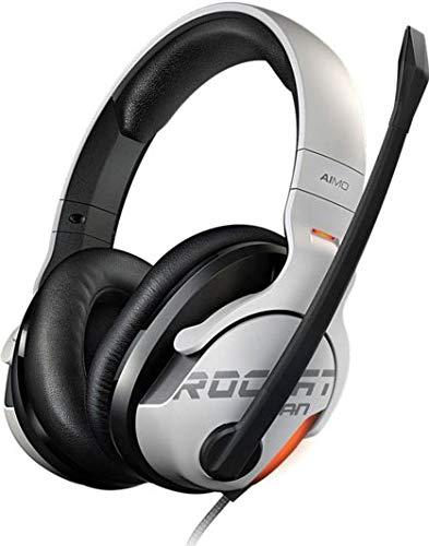 ROCCAT Khan AIMO 7.1ch・ハイレゾ対応RGB ゲーミング・ヘッドセット white (正規保証品) ROC-14-801-AS