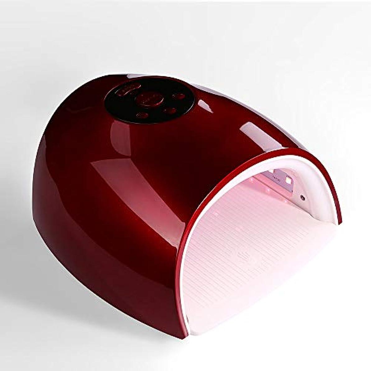 押す北西急勾配の釘ドライヤー - 自動赤外線センサー、二重光源のLedランプのゲルのドライヤーのマニキュアが付いている紫外線携帯用Ledの釘ランプ