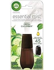 Air Wick Essential Oils Diffuser Mist Refill, Fresh Cucumber, 1ct, Air Freshener 141[並行輸入]
