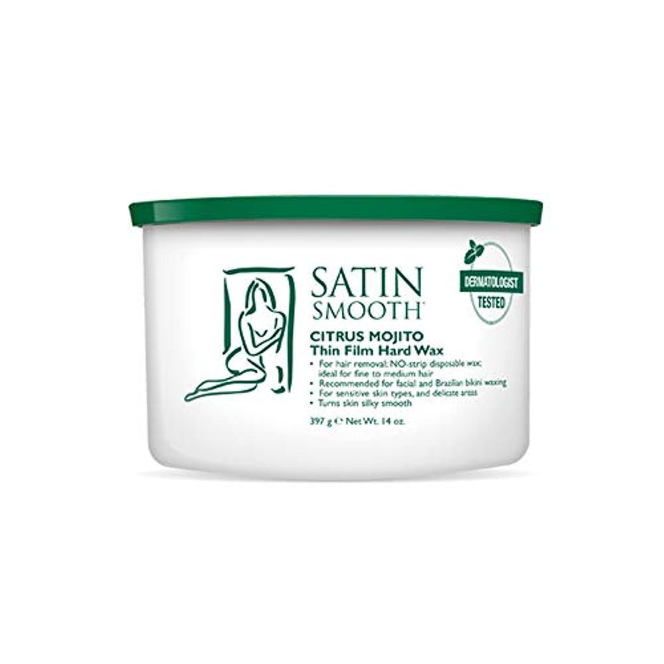 愛する一目再びSatin Smooth Citrus Mojito Thin Film Hard Wax (並行輸入品)