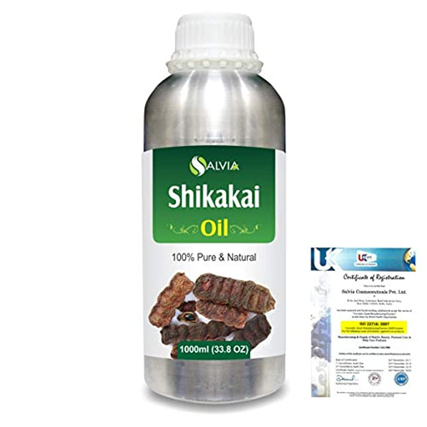 矢印石のあなたはShikakai (Acacia concinna) 100% Natural Pure Oil 1000ml/33.8fl.oz.