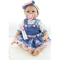 ベビー人形22インチ磁気口シリコンビニールベビー人形