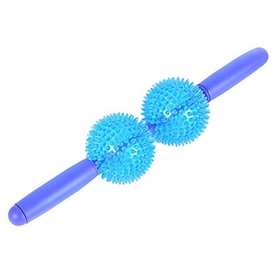 代表してナラーバーする柔らかい ボール付 筋肉マッサージ マッサージローラー マッサージ棒