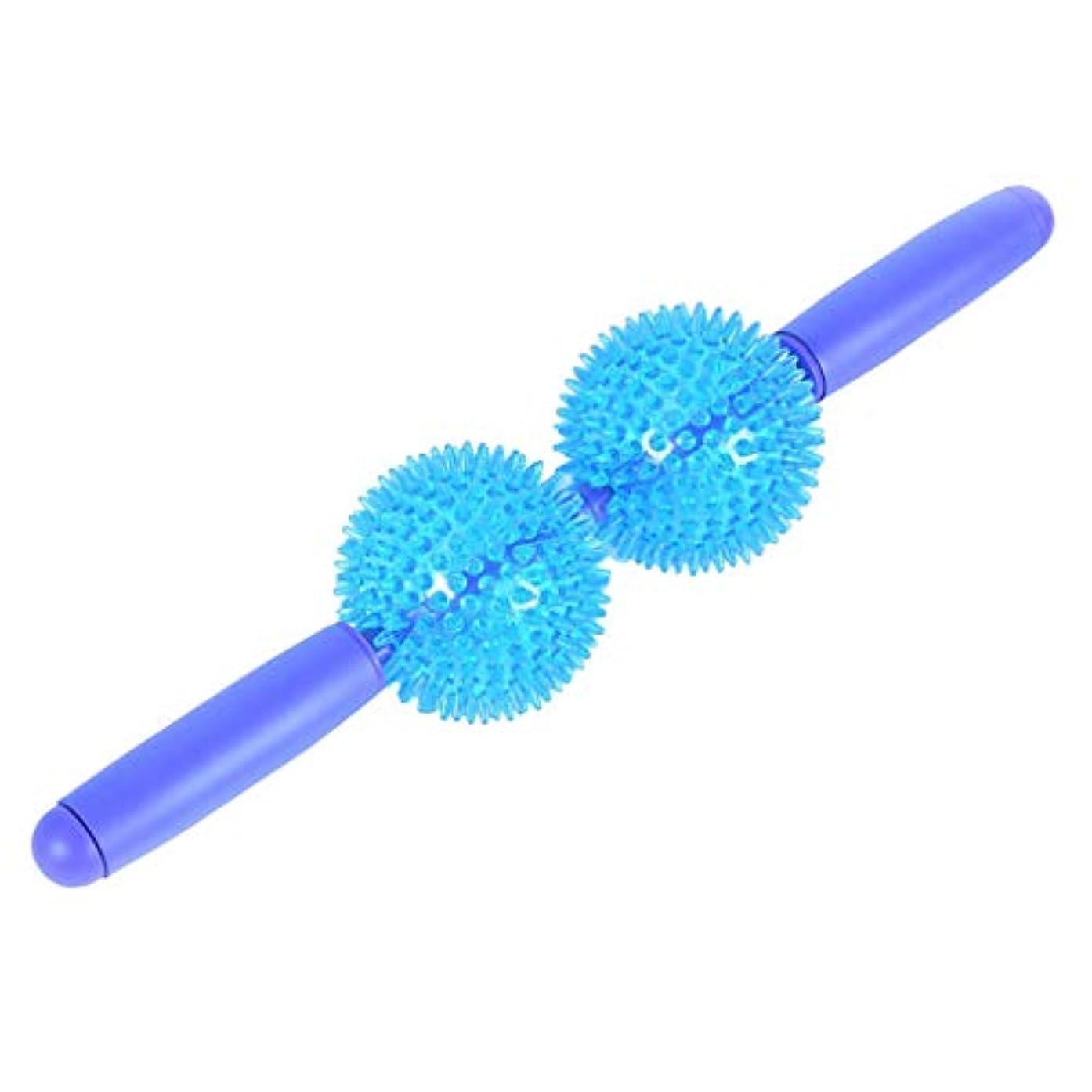 毎週アナロジー補充柔らかい ボール付 筋肉マッサージ マッサージローラー マッサージ棒