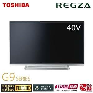 東芝 40V型 フルハイビジョン 液晶 テレビ REGZA 40G9