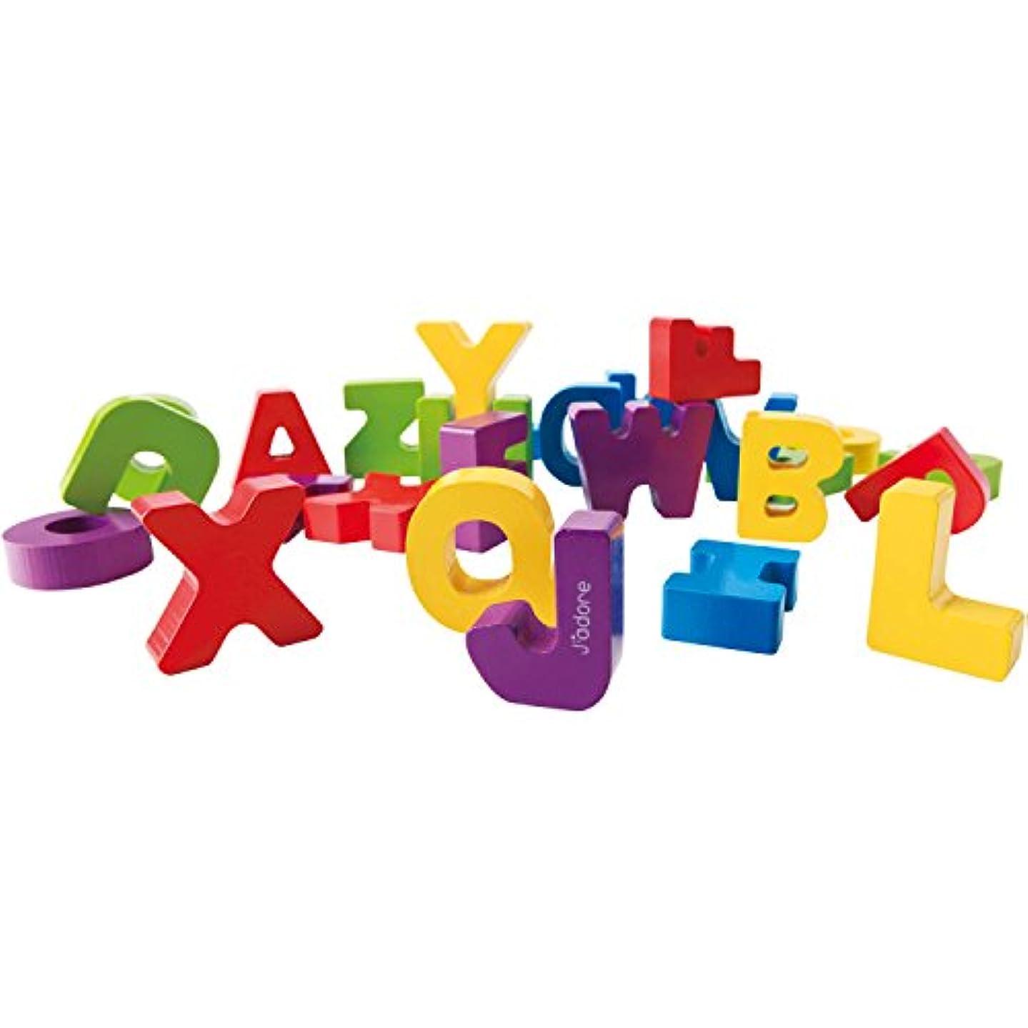 ラベル役立つ優越J'adore JAD-823843 A to Z Letters Wooden Toy