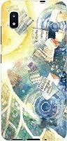 ガラスフィルム付 GALAXY A20 SC-02M SCV46 ギャラクシー エートゥエンティ galaxy a20 sc02m scv46 ハードケース ハード カバー 月の歌