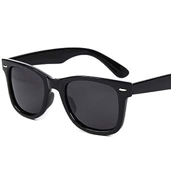 (フェリー) FERRY 偏光レンズ ウェリントン サングラス ポーチ&クロス セット ユニセックス ブラック