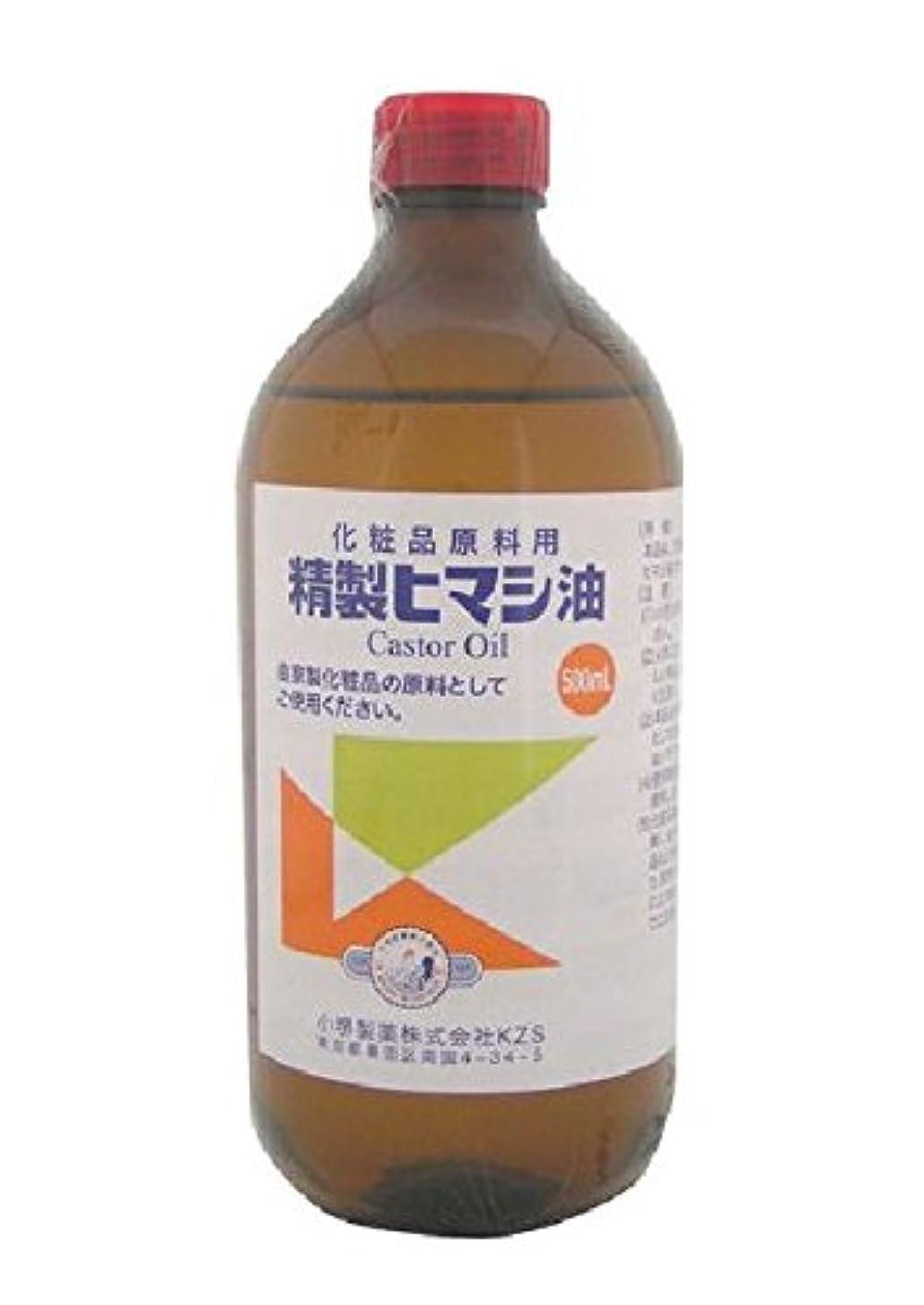 毒ワーカー挨拶する小堺製薬 新精製ヒマシ油 500mL