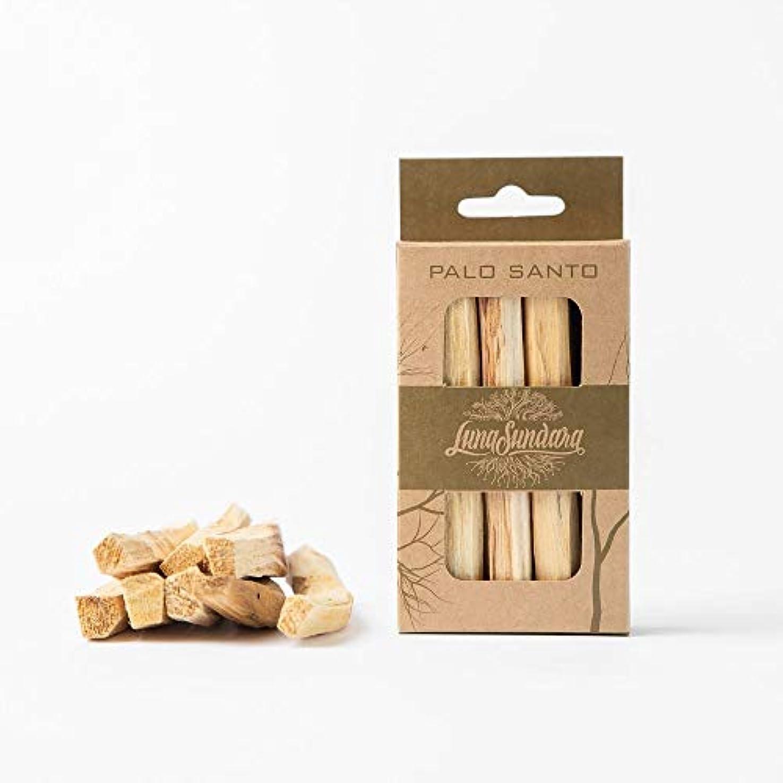 トークシロクマ闘争ルナスンダラ (Luna Sundara) Palo Santo Smudging Sticks パロサント スマッジングスティック香木[8本入りBOX]