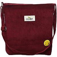 Fanspack Women's Tote Handbags Casual Lightweight Corduroy Canvas Messenger Bag Crossbody Shoulder Bag Purse