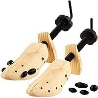 Nowest (ノウェスト) シューズ キーパー ストレッチャー 木製 靴伸ばし ケア用品 両足セット 取り扱い説明書付き