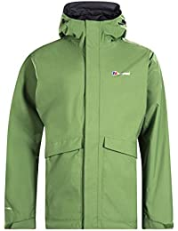 (X-Large, Kale) - Berghaus Men's Dalemaster Waterproof Jacket
