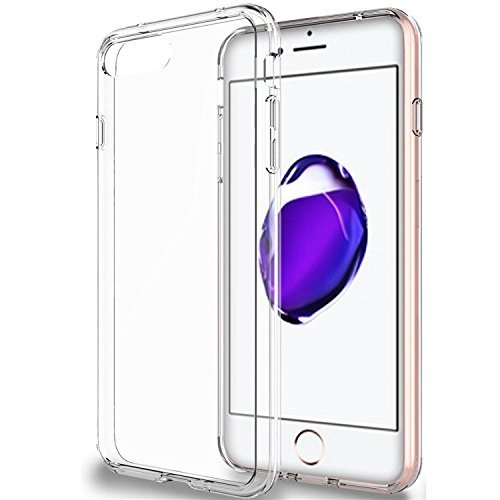 Makry iphone 7 ケース 透明 クリアな透明感を実現!カバー 360°全面保護 耐摩擦 耐汚れ 防塵 衝撃吸収 落下防止 防指紋 本体の色も生かせる 男女問わず エコTPU 型崩れせず 黄ばみを防ぐ スーパークリア(無色透明)