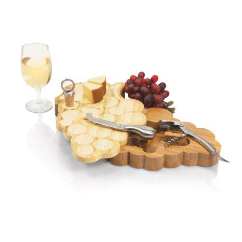 ワイングッズ/ぶどうチーズボード/チーズナイフ/ワイン栓/栓抜き