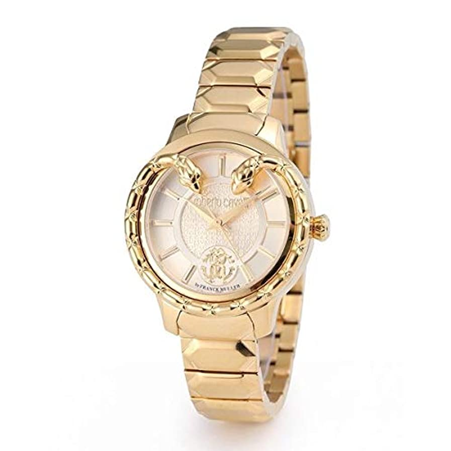 直接密度満足させるロベルトカヴァリ by フランクミュラー 腕時計 RV1L050M0071 レディース