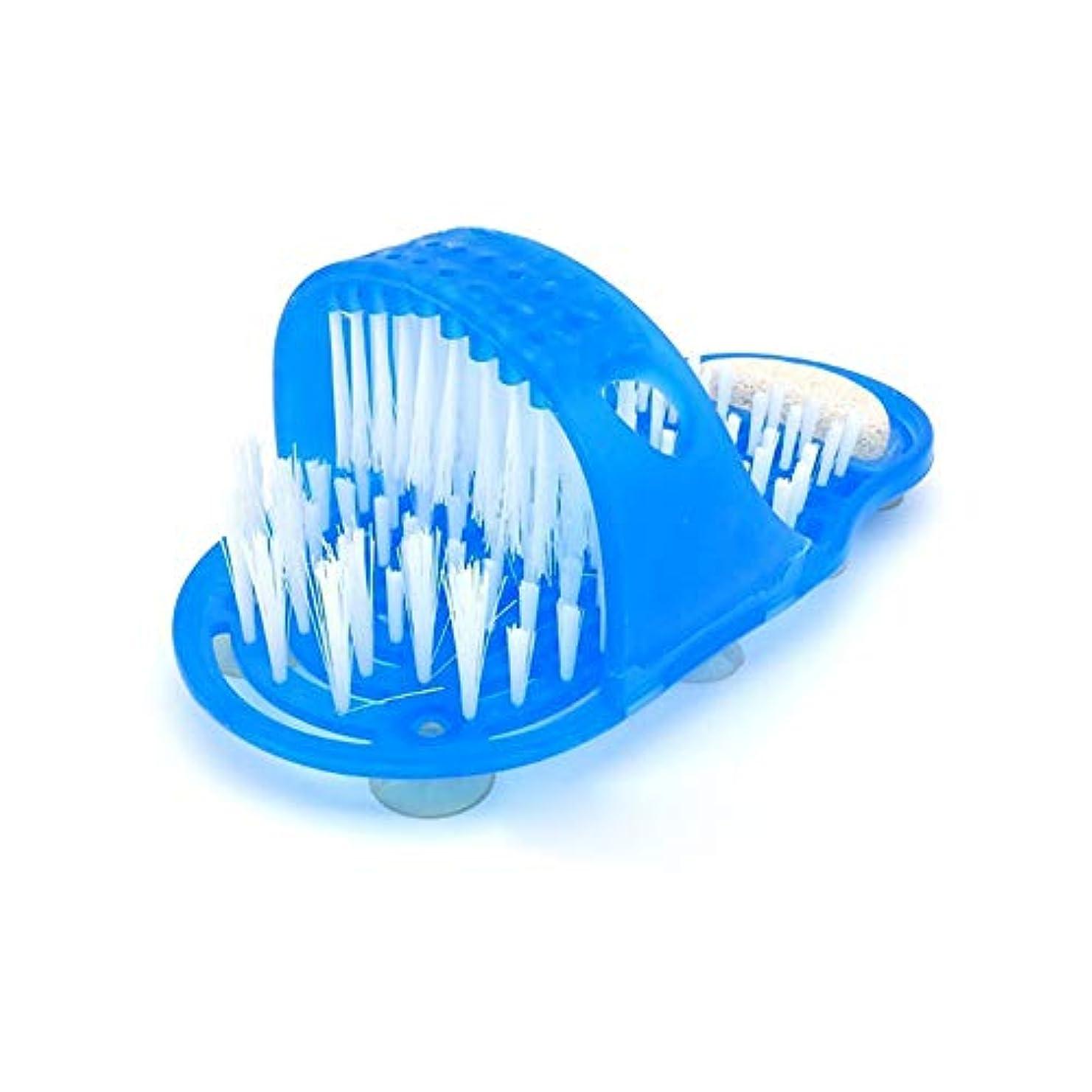 促進するメッセージ定常マッサージスリッパ 足洗いブラシ 足洗いマット マッサージ マット 脱臭 角質除去 血行促進