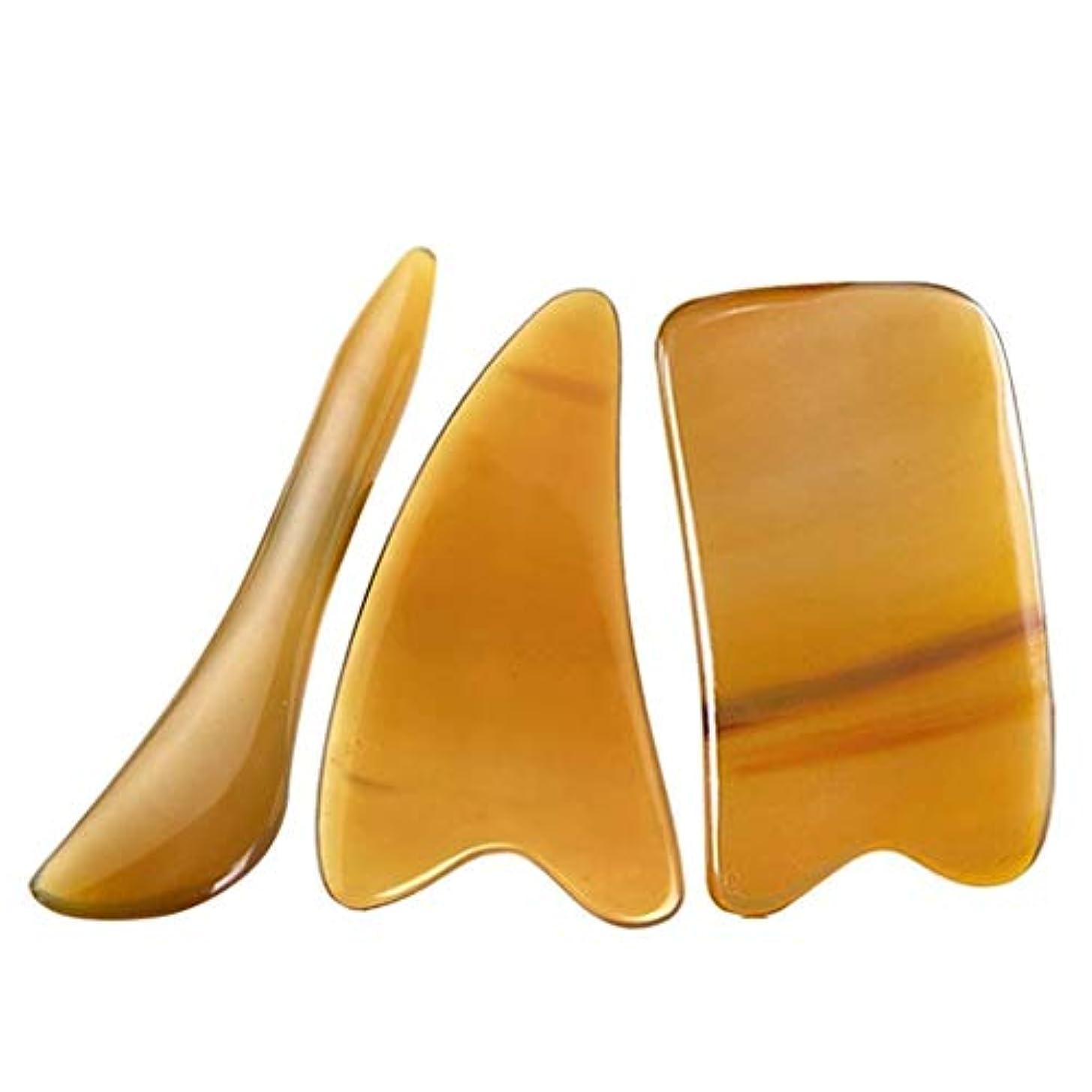 エジプトフルーティー縞模様のIASTMグラストン理学療法ツール-ハンドメイドガシャボード-顔と体のSPA鍼治療のトリガーポイント治療用