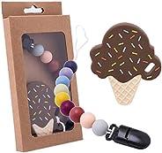 Promise Babe 玩具支架 硅膠 冰淇淋 毛毯支架 圍嘴 包架 防止掉落 防止丟失 可愛 生日 禮物