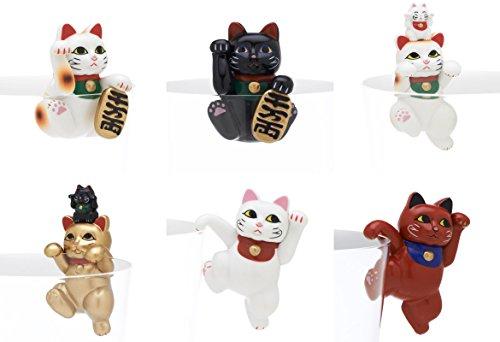 PUTITTO 招き猫 全6種 奇譚クラブ ガチャポン ガチャガチャ ガシャポン