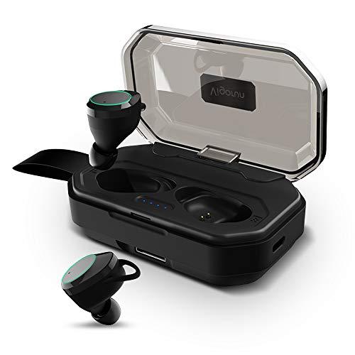 進化版Bluetooth5.0 130時間連続駆動 IPX7完全防水 Bluetooth イヤホン 超大容量3500mAh Hi-Fi 高音質 完全ワイヤレス イヤホン Bluetooth5.0+EDR搭載 音量調整可能 3Dステレオサウンド CVC8.0ノイズキャンセリング 自動ペアリング ブルートゥース イヤホン 左右分離型 Siri対応 片耳両耳とも対応 iPhone/ipad/Android適用