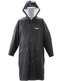 川西工業 #3535 合羽 防水 男女兼用 ブラック フリーサイズ