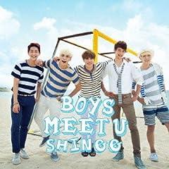 SHINee「Boys Meet U」のジャケット画像
