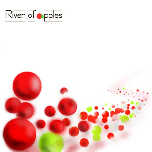 River of apples