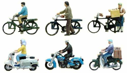 情景コレクション 情景小物 025 二輪車・自転車A1