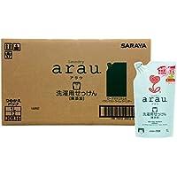 【ケース販売】 arau. アラウ 洗濯用 せっけんゼラニウム 詰替用 1リットル×12個入