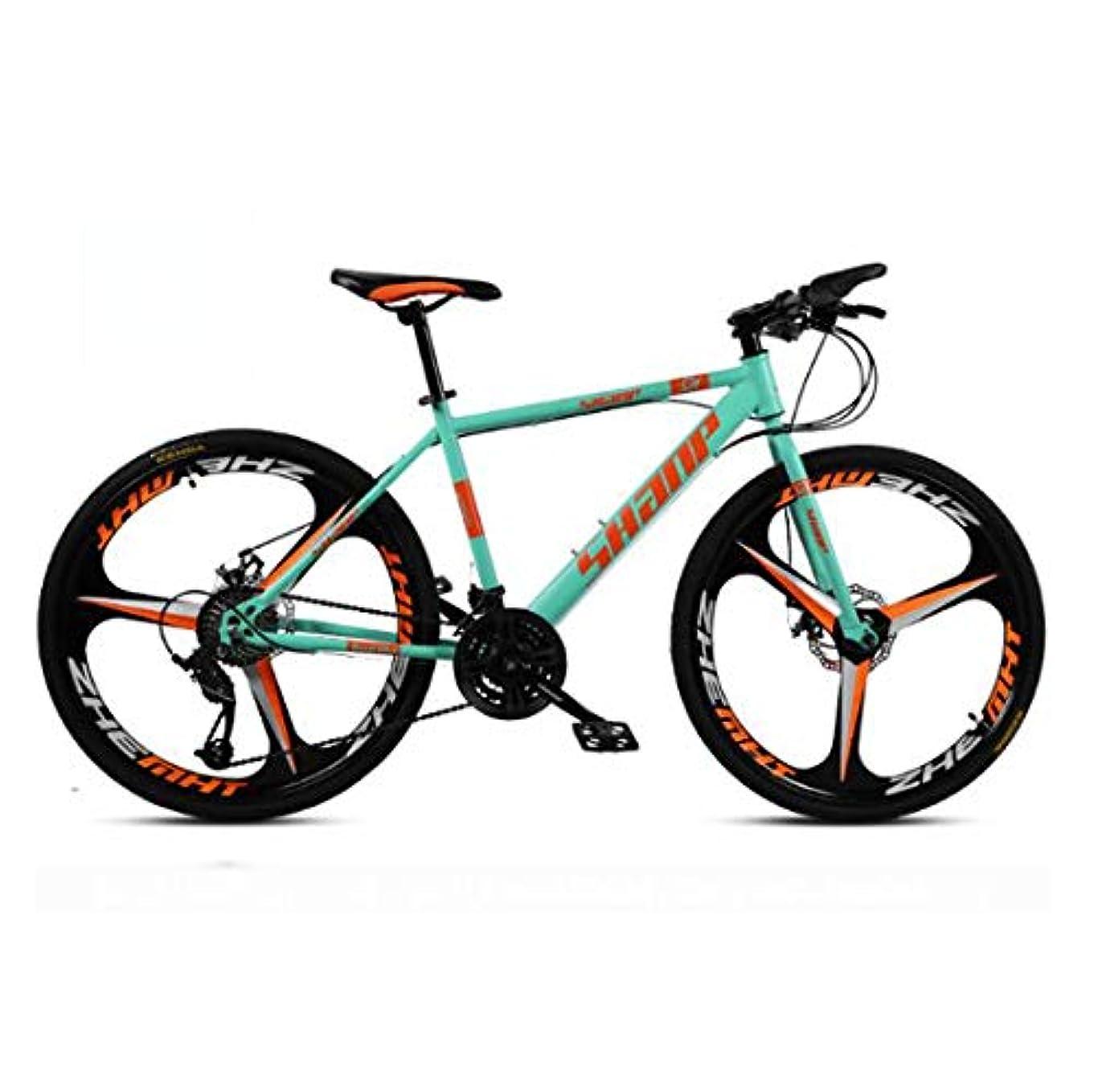 口述する青うま61.5インチのマウンテンバイク21スピード/ 24速度/ 27速度/ 30スピードマウンテンバイク24インチホイール自転車、ブラック、ホワイト、レッド、イエロー、グリーン,D1,27