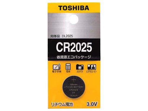 TOSHIBA CR2025EC コイン形リチウム電池