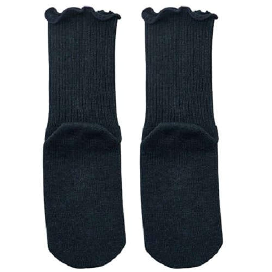 【むくみ】【骨折】 男女兼用 極上しめつけません 特大サイズ 靴下 (チャコール)
