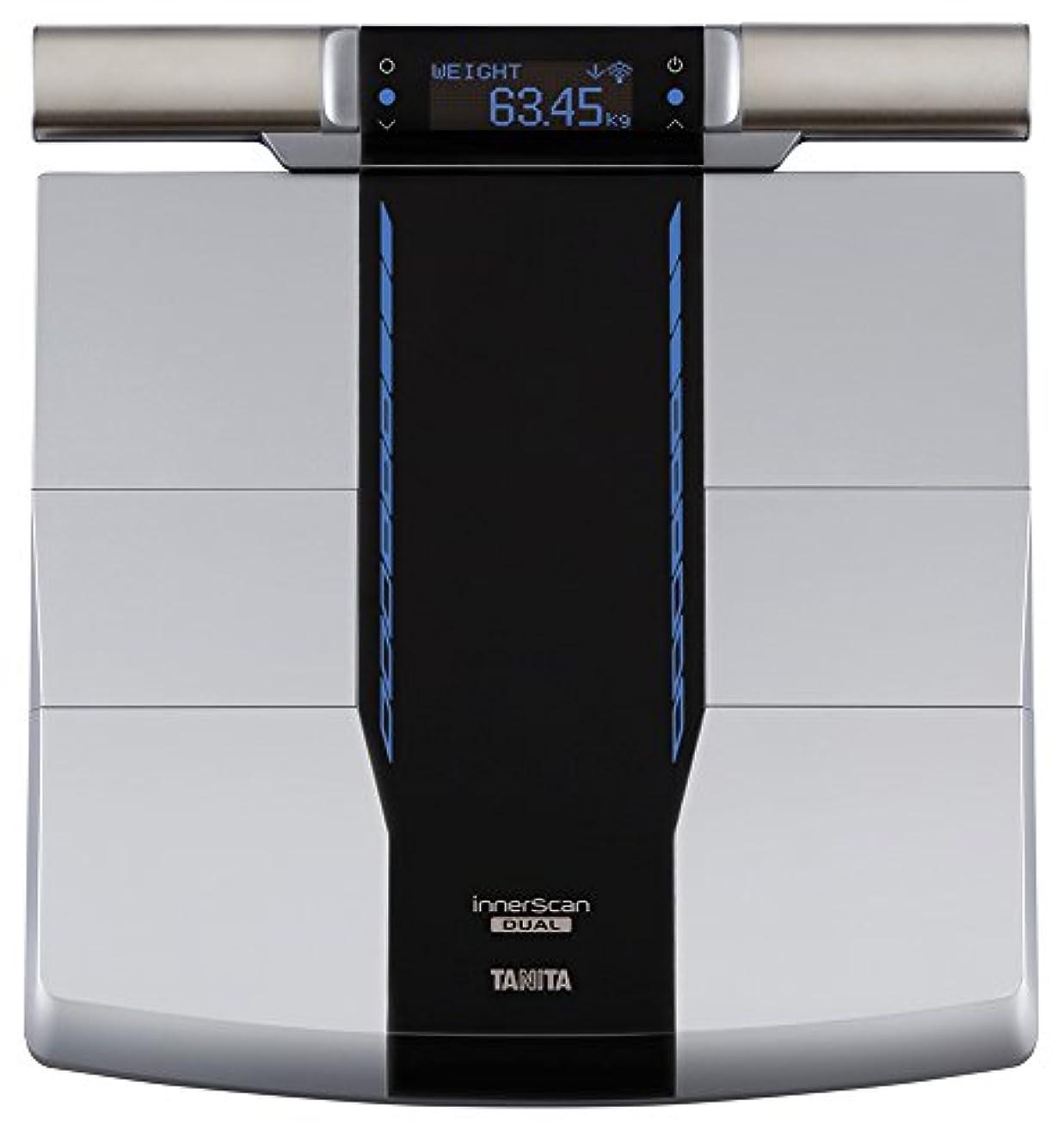 寛容な文電気技師タニタ 体組成計 部位別 日本製 RD-800-BK 筋肉の質が分かる 医療分野の技術搭載/スマホでデータ管理 インナースキャンデュアル