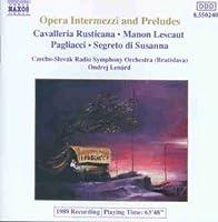 Opera Intermezzi & Preludes