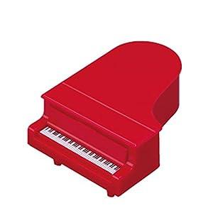 ナカノ コンサートピアノ型鉛筆削リ レッド PS-35PI/RE