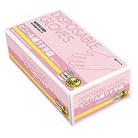 【ケース販売】 ダンロップ ビニール極うす手袋 食品衛生法適合品 S 半透明 (100枚入×20箱)